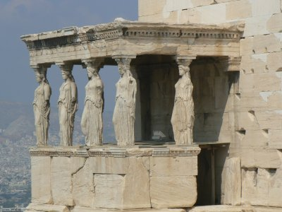 Erechtheum close-up