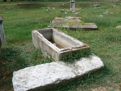 First Century Cemetary near church