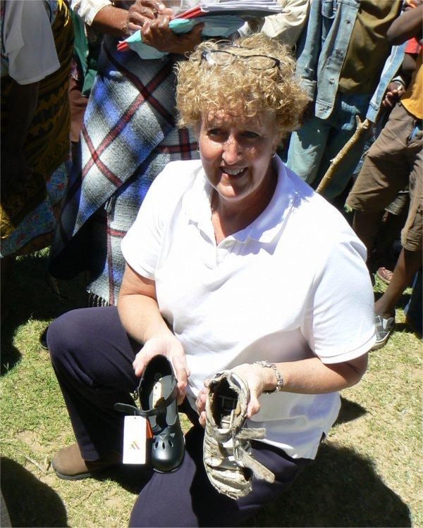 Lesotho Shoe Challenge